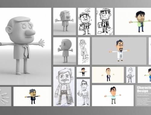 Omid Iranian Animation Characters