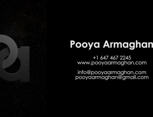 Pooya Armaghan Demo Reel (AUG 2016)