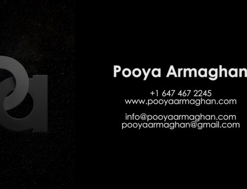 Pooya Armaghan Demo Reel (AUG 2016)